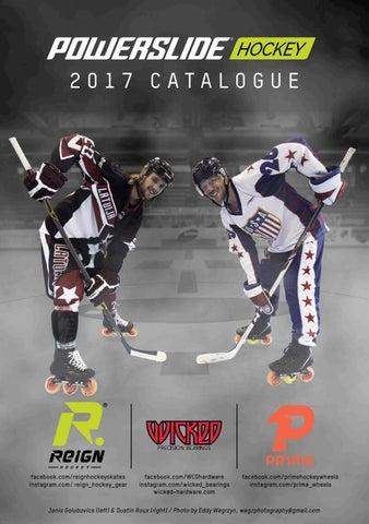8cd88d2a62e Powerslide Hockey Catalogue 2017 by Powerslide - issuu