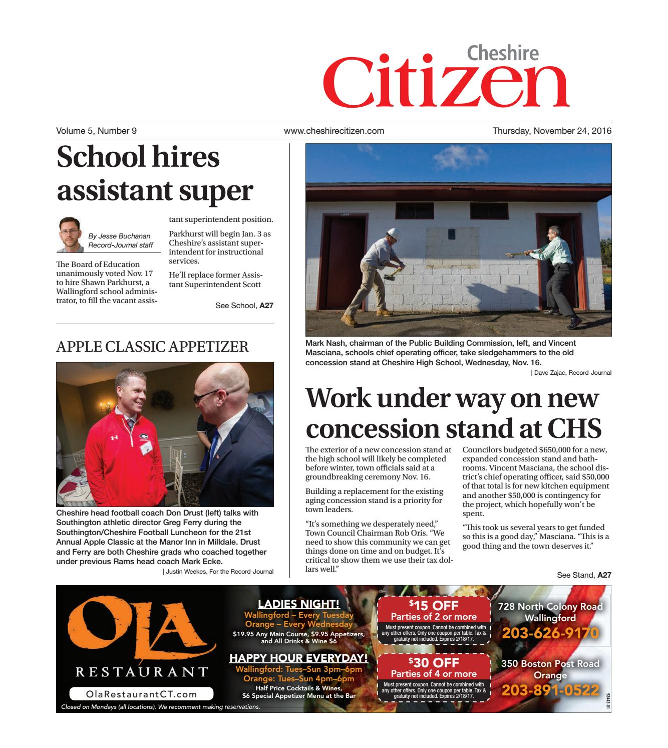 Cheshirecitizen20161124 by cheshire citizen issuu fandeluxe Image collections