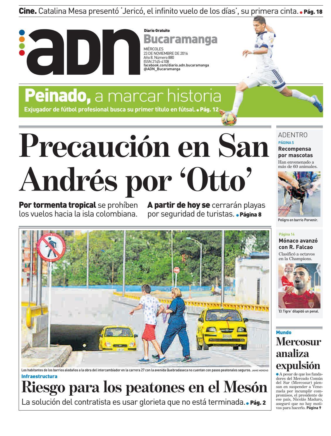 Adn bucaramanga 23 de noviembre by diarioadn.co - issuu