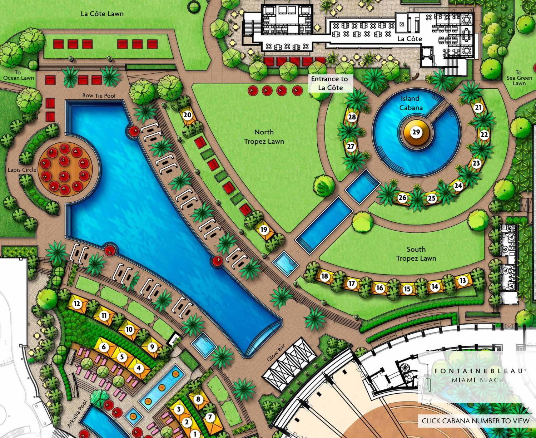 interactive cabana mapfontainebleau miami beach - issuu
