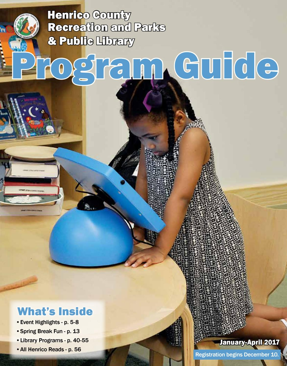Henrico Program Guide Winter Spring 2017 By Recreation Circuit Bent Toys Flickr Photo Sharing Parks Issuu