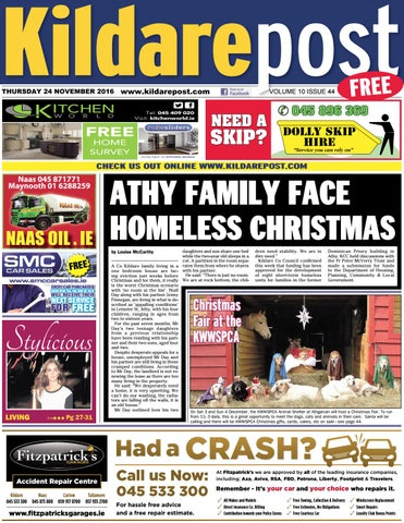 Kildare post 24 11 16 by River Media Newspapers - issuu 7d7099d341424