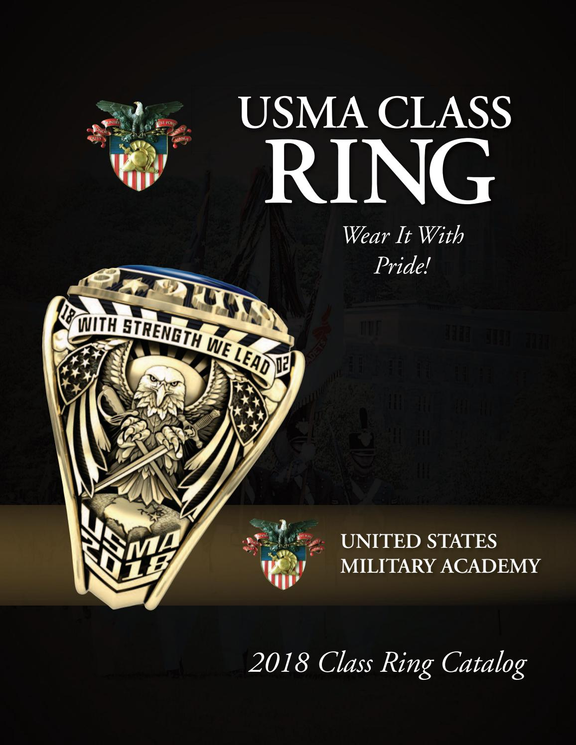 United States Military Academy Class Ring