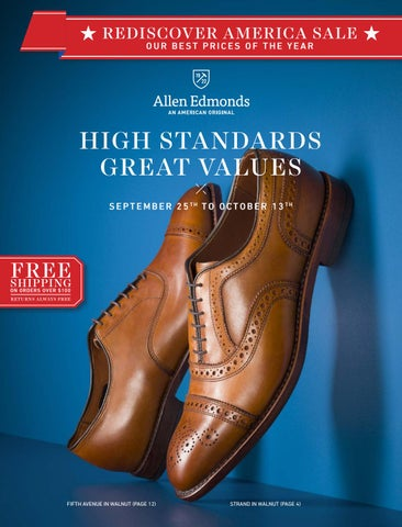 22c31cd673 2015 Rediscover America Sale by Allen Edmonds Shoe Corporation - issuu