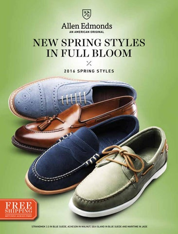 ad4034df2f6 2016 Allen Edmonds Spring Styles by Allen Edmonds Shoe Corporation ...