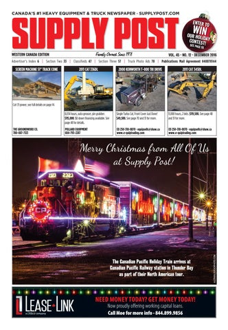 Supply Post West December 2016 By Supply Post Newspaper Issuu