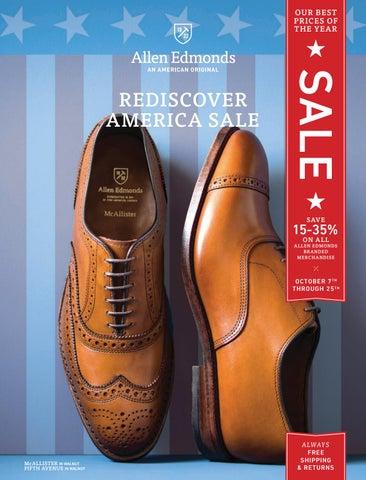 2016 allen edmonds rediscover america sale by allen edmonds shoe