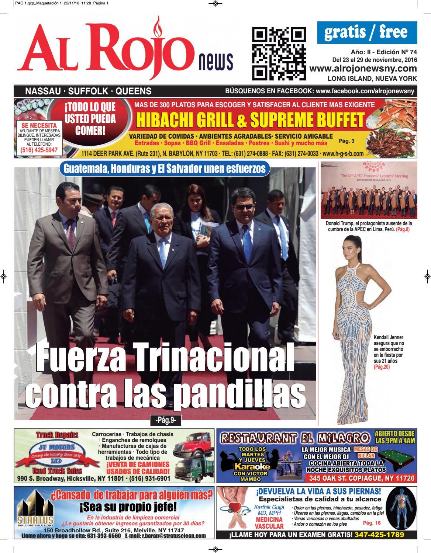 Al Rojo News año II edición 74 by Jose Rivas - issuu