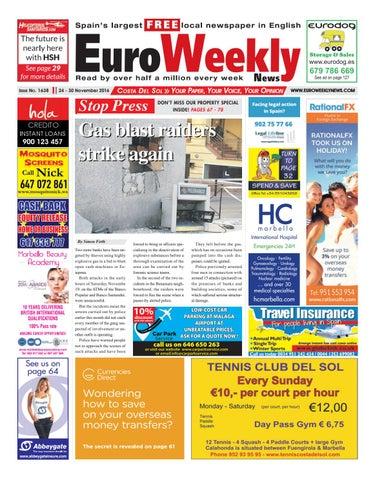 0e371e2b0 Euro Weekly News - Costa del Sol 24 - 30 November 2016 Issue 1638 by ...