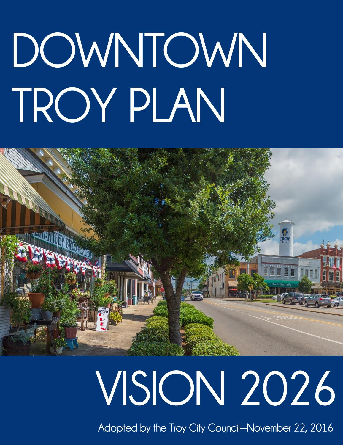 Downtown Troy Plan - Vision 2026 by TroyPlanning - issuu