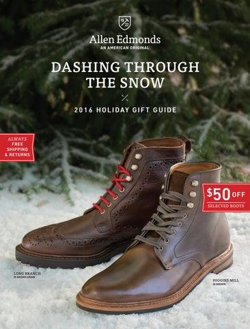 7ae552bfe89 2016 Allen Edmonds Holiday I Catalog by Allen Edmonds Shoe ...