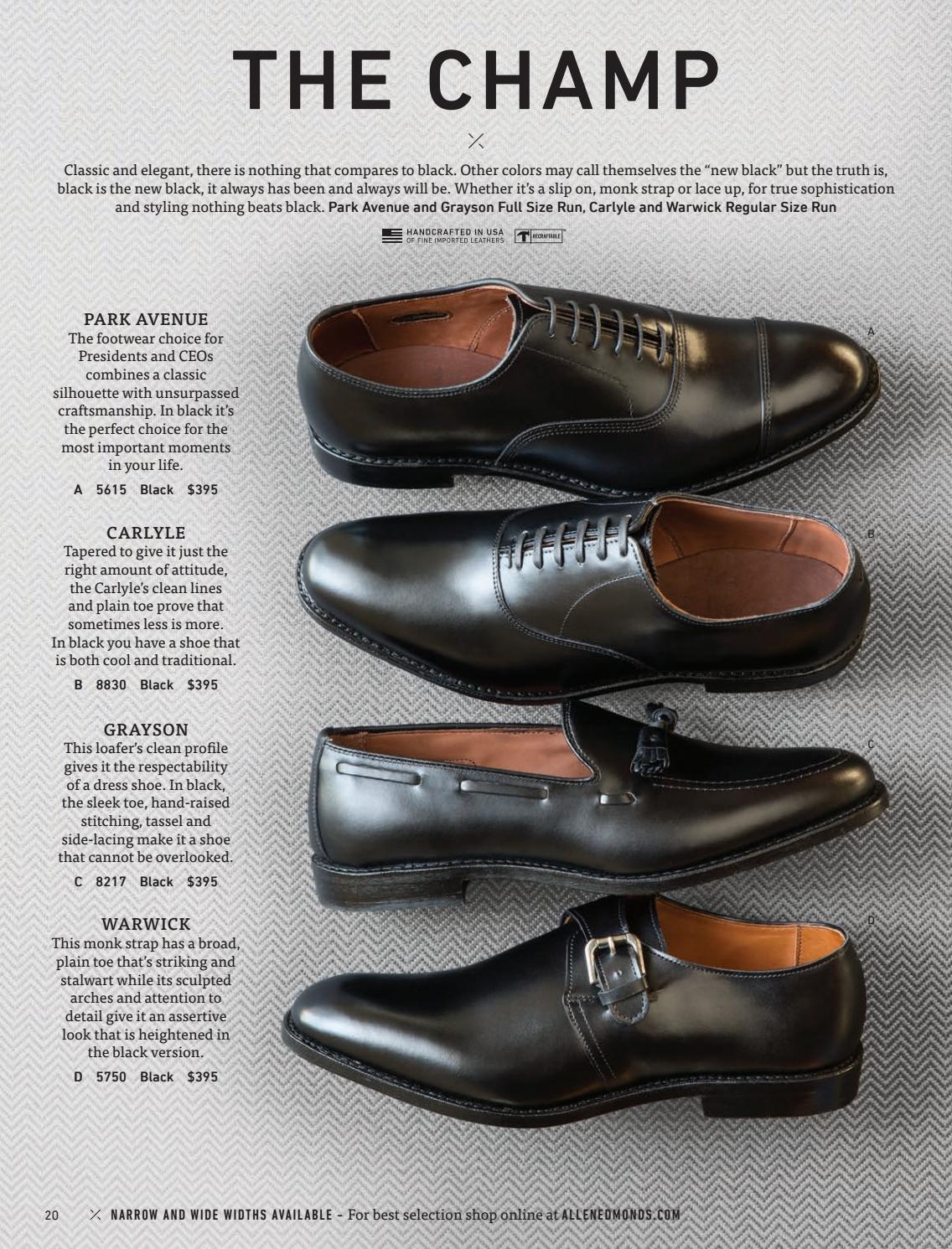 7c4f50efd72 2016 Allen Edmonds Holiday I Catalog by Allen Edmonds Shoe ...