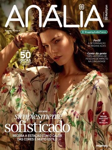 b7619f18a Revista Anália 18 by Editora Mymag - issuu