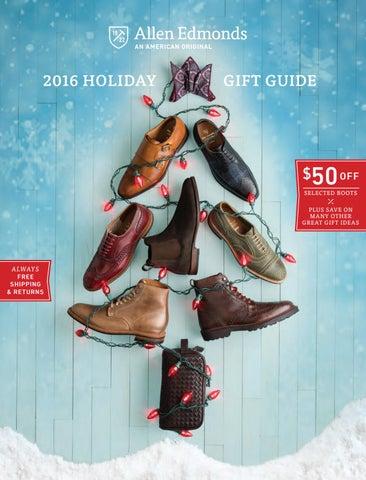 2476475f7a64 2016 Allen Edmonds Holiday II Catalog by Allen Edmonds Shoe ...