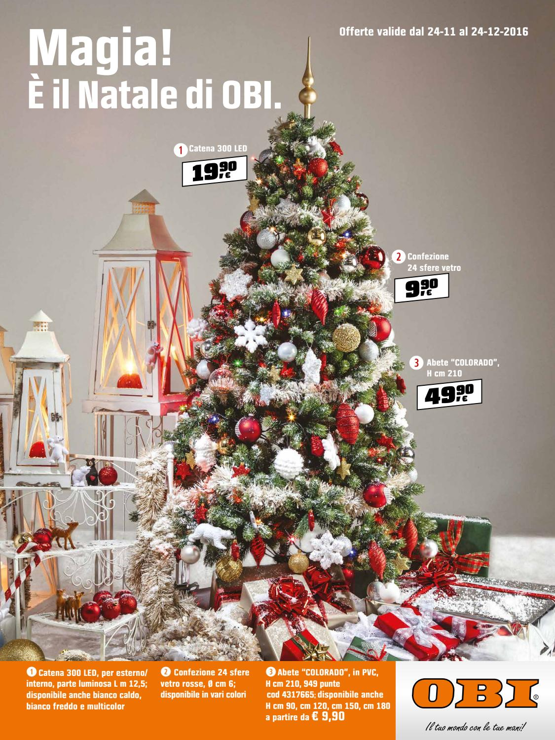 Obi 24dic by best of volantinoweb issuu for Obi albero di natale