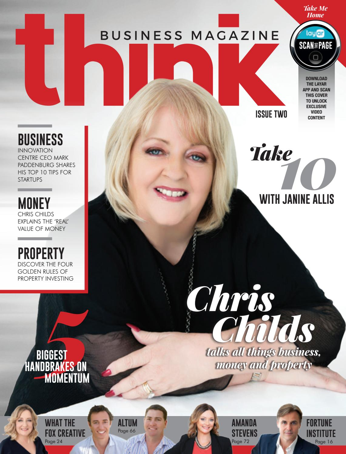 2036f601be Think Business Magazine - Issue 2 - Chris Childs by Think Business ...