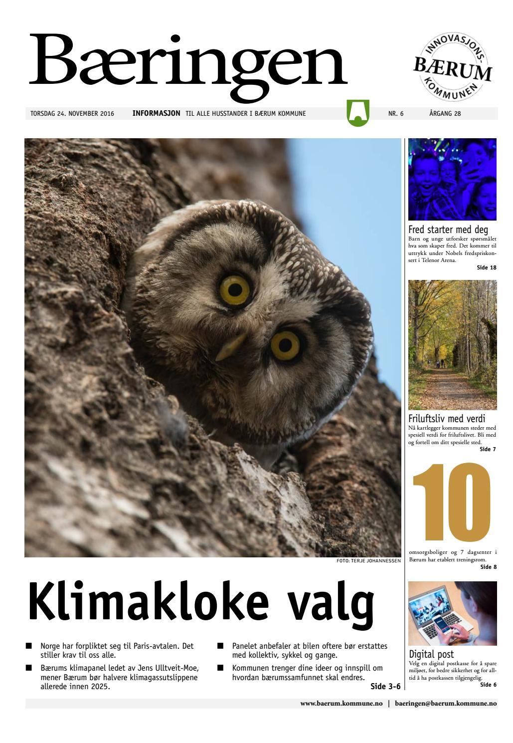 f64a16ac Bæringen 6-2016 by Bærum kommune - issuu