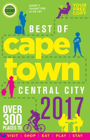 Best Of Cape Town Central City Guide 2017