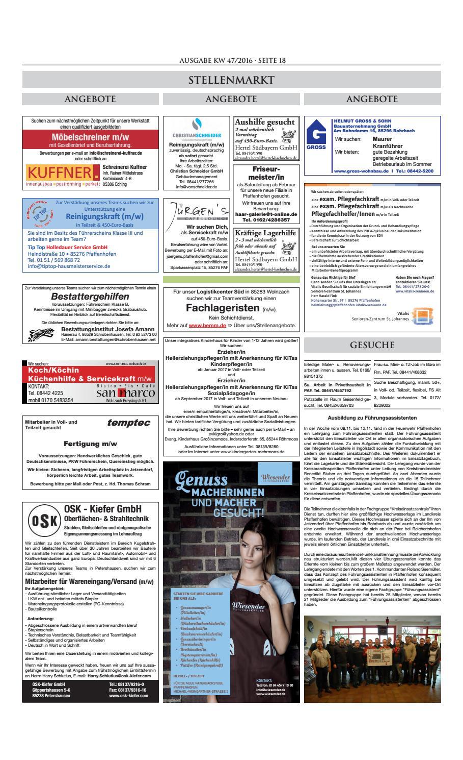 Ausgabe 47 2016 Bayrisches Taferl By Bayrisches Taferl Issuu