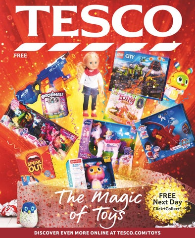 The Magic Of Toys By Tesco Magazine Issuu
