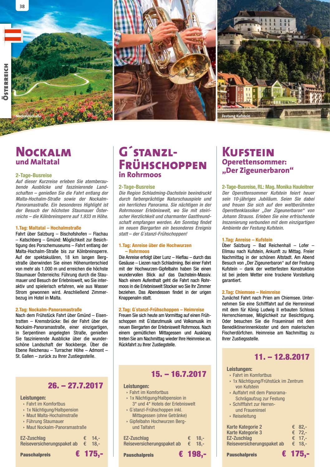 Mitterbauer Pfleger Reisen 2017 Busreisen by Mitterbauer Reisen - Issuu