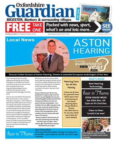 a5d32b5f04 24 november 2016 guardian bicester by Taylor Newspapers - issuu