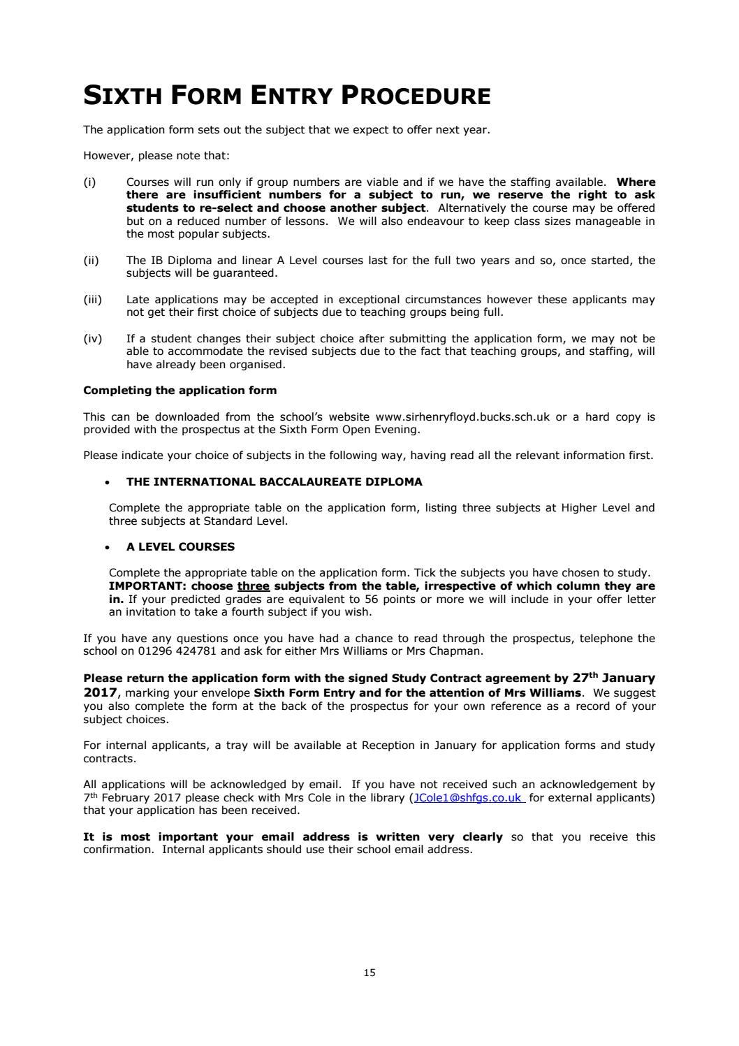 Sir henry floyd grammar school sixth form prospectus 2017 by fse sir henry floyd grammar school sixth form prospectus 2017 by fse design issuu falaconquin