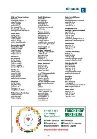 Gartenbau Nürnberg fruchthandel branchen guide 2017 by fruchthandel magazin issuu