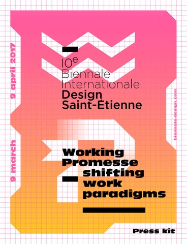Press Kit 10th Biennale International Design By Cite Du