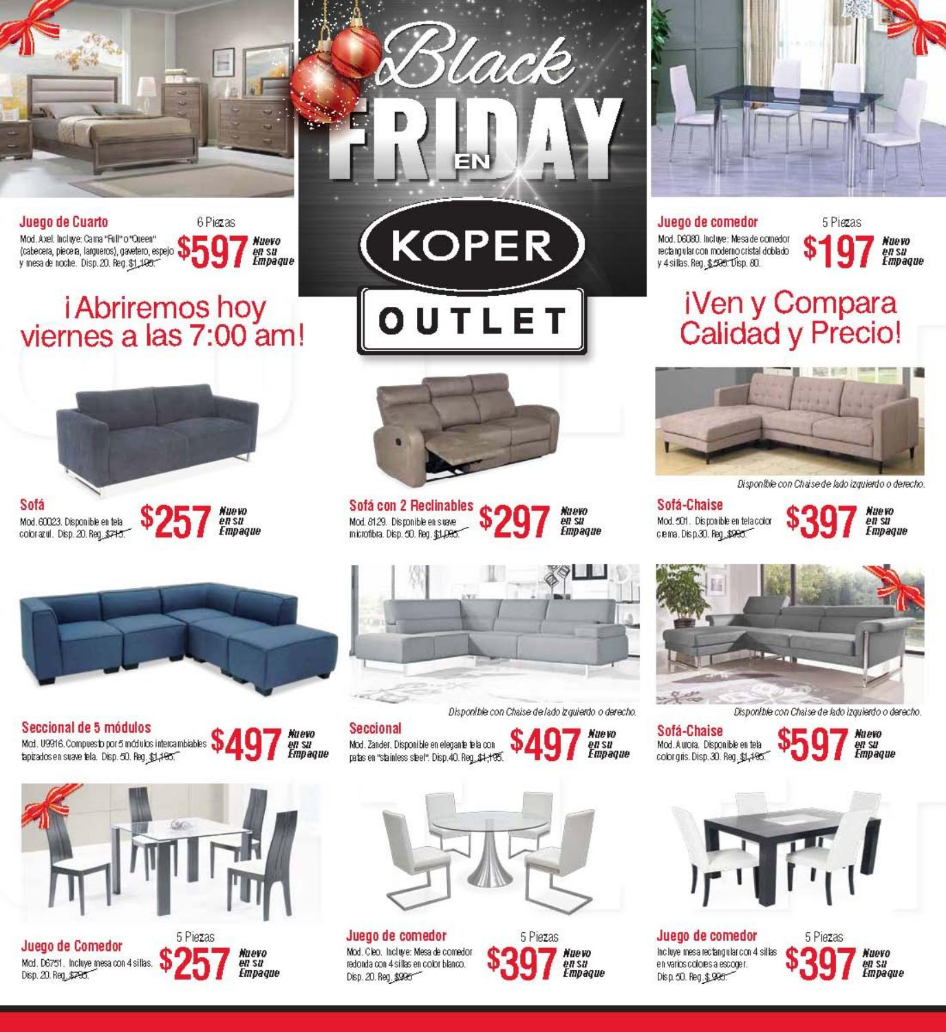 Shopper Outlet By Koper Furniture Issuu