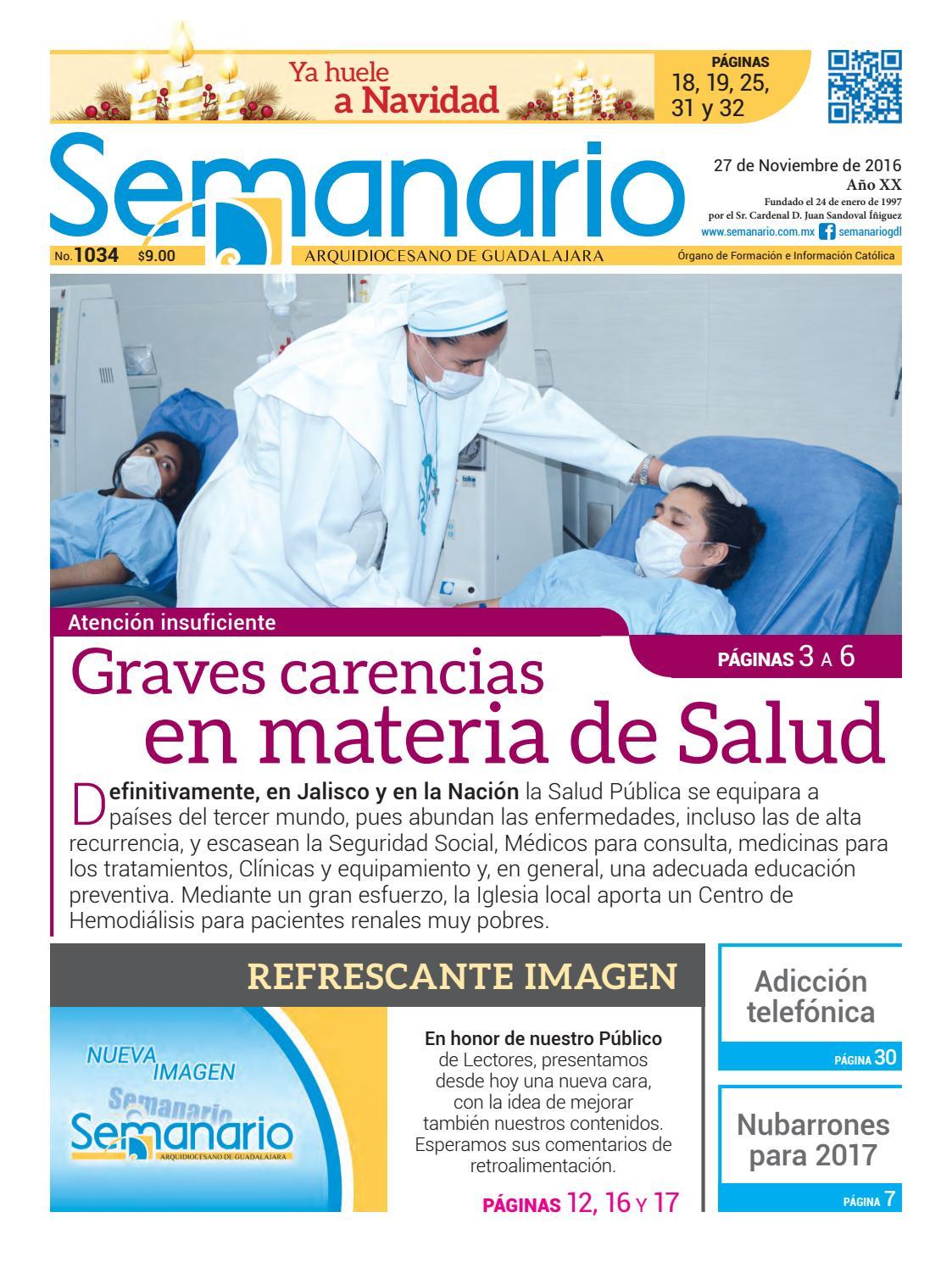 Semanario #1034 by Semanario Arquidiocesano de Guadalajara ... - photo#2