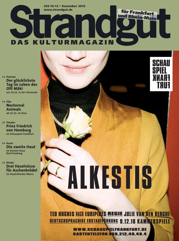 Strandgut 12/2016 by Strandgut Kulturmagazin - issuu