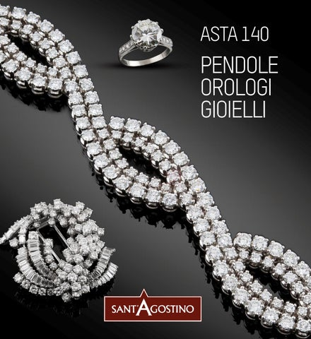 182ee8768d6490 Asta di pendole, orologi e gioielli by Sant'Agostino Casa d'Aste - issuu