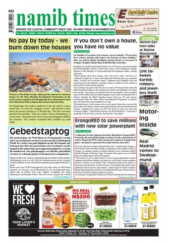 25 november namib times e edition by namib times virtual issuu page 1 fandeluxe Gallery