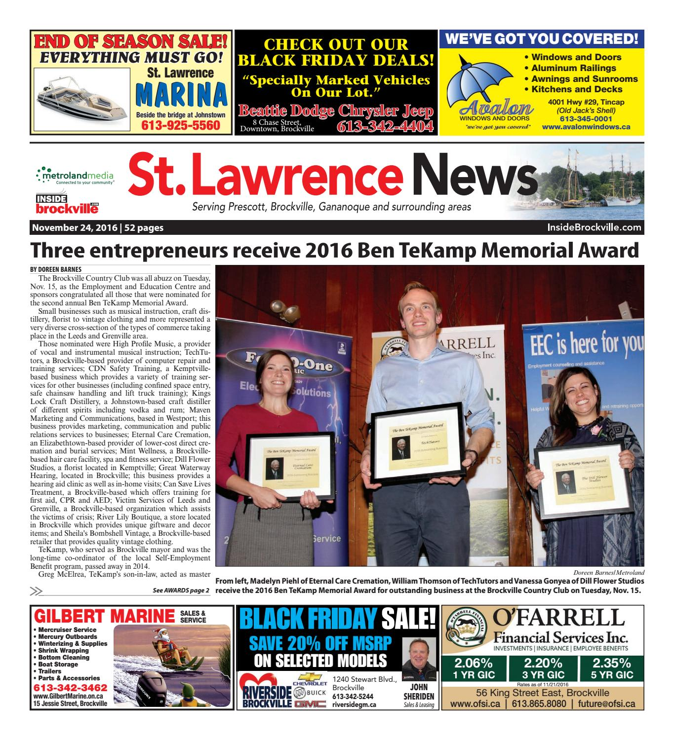 La Pérade Ford >> Stlawrencecombined By Metroland East St Lawrence News Issuu