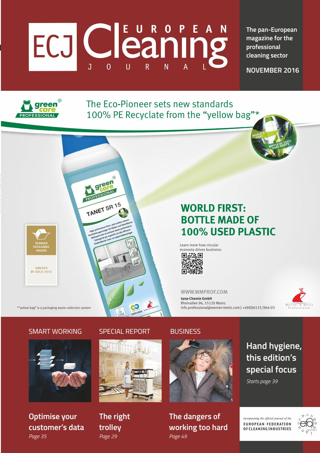 Prodotti Johnson Diversey.November 2016 By European Cleaning Journal Issuu