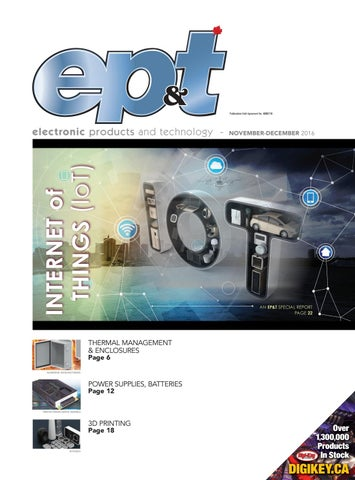 Electronic Products and Technology Nov/Dec 2016 by Annex