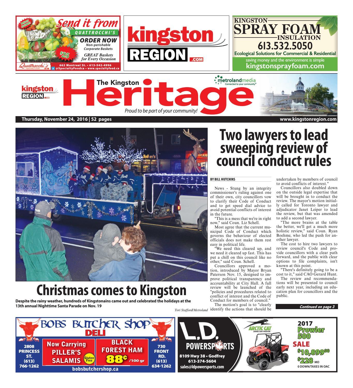 La Pérade Ford >> Kingston 112416 By Metroland East Kingston Heritage Real