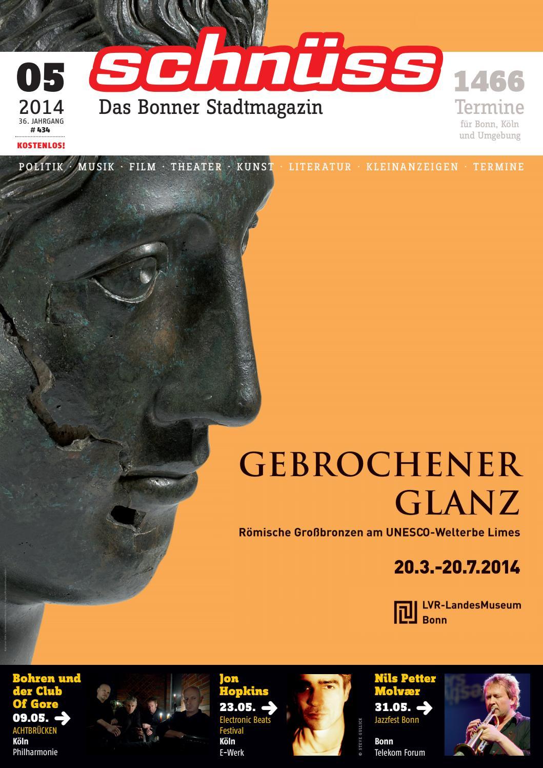 Attraktiv Schnüss 2014/05 By Schnüss   Das Bonner Stadtmagazin   Issuu