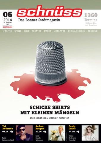 Schnüss 2014/06 by Schnüss - Das Bonner Stadtmagazin - issuu