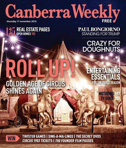 17 November 2016 by Canberra Weekly Magazine - issuu 0a11cb43cb