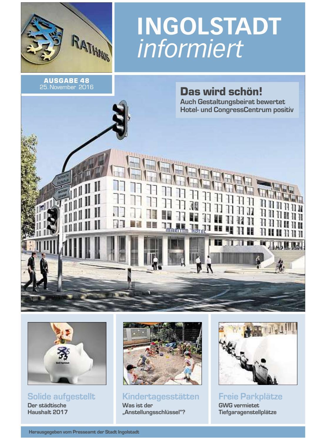 Freie Parkplätze Ingolstadt
