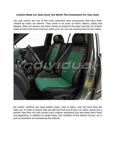 custom made car seat cover are worth the investment for your auto 0d rh issuu com