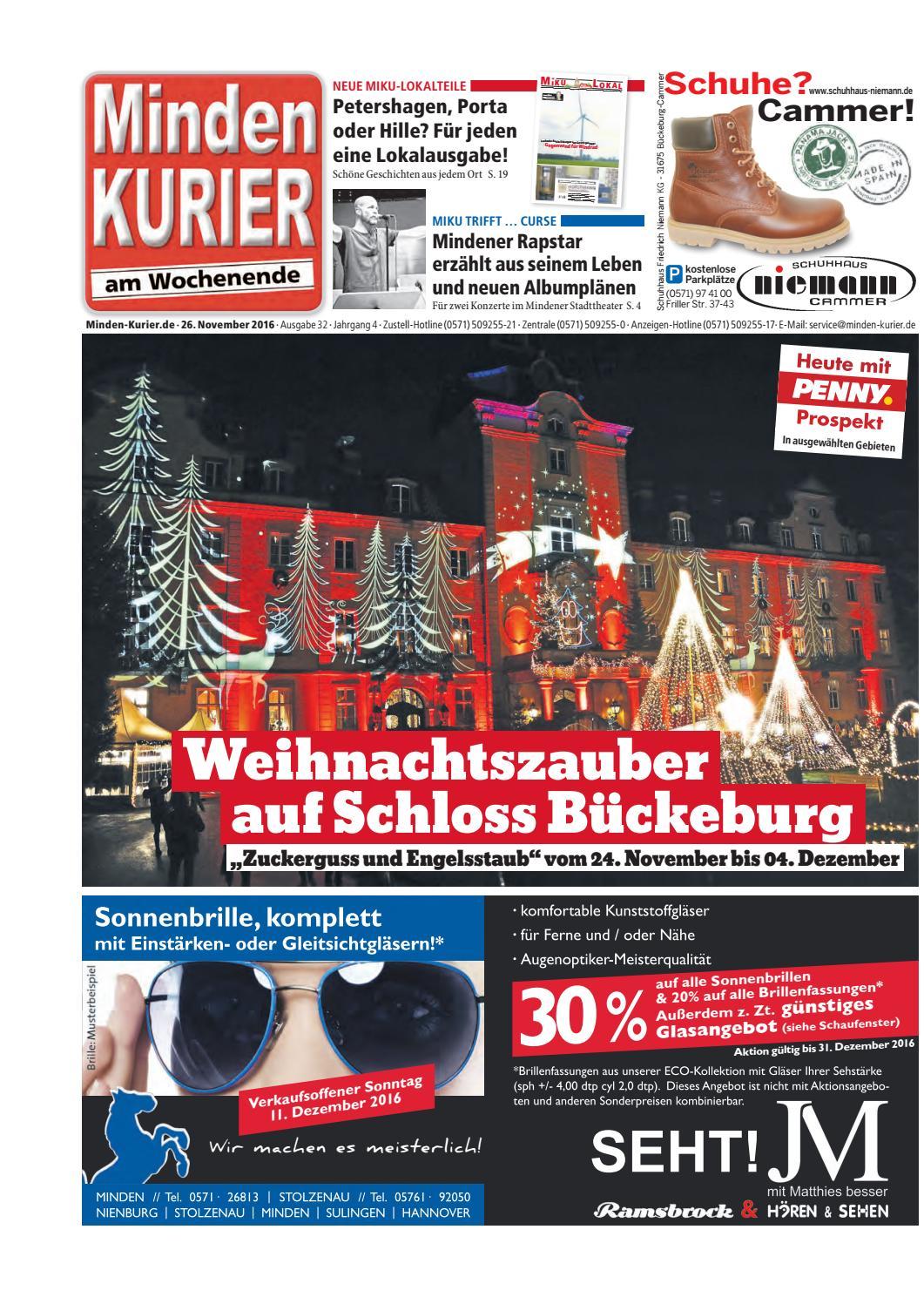 26. November 2016 – Weihnachtszauber auf Schloss Bückeburg by Minden ...