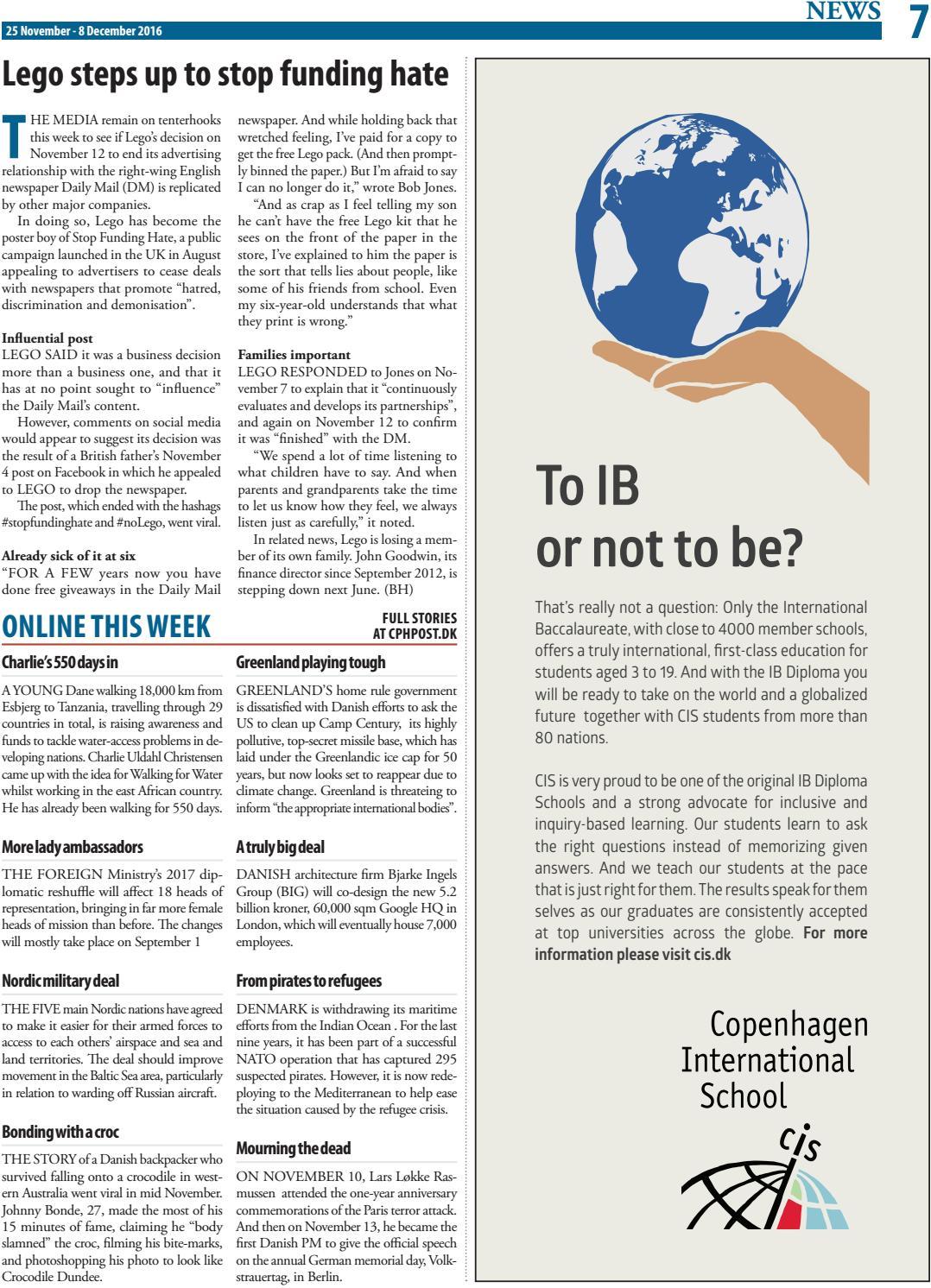 The Copenhagen Post, November 25 - December 8