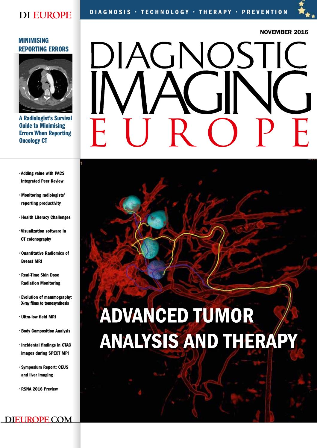 8e14f9ddf28b9 DIEurope by Diagnostic Imaging Europe - issuu
