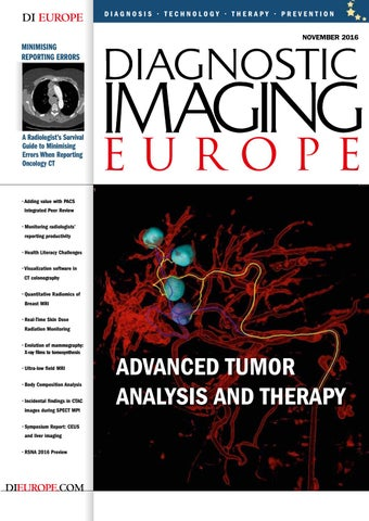 DIEurope by Diagnostic Imaging Europe - issuu