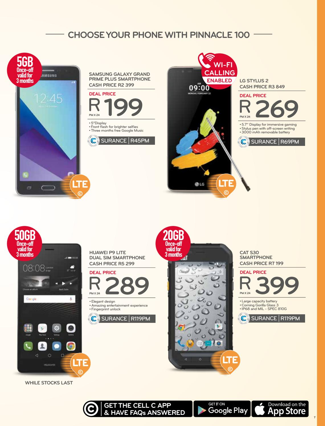 Cell C Franchise Booklet Dec Jan 2017 By Cell C South