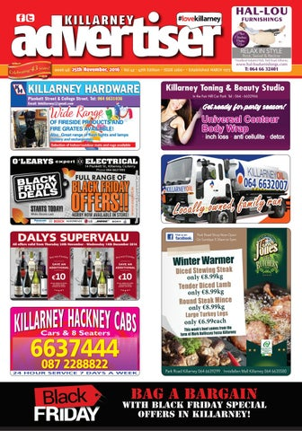 killarney advertiser november 26th 2016 by killarney advertiser issuu