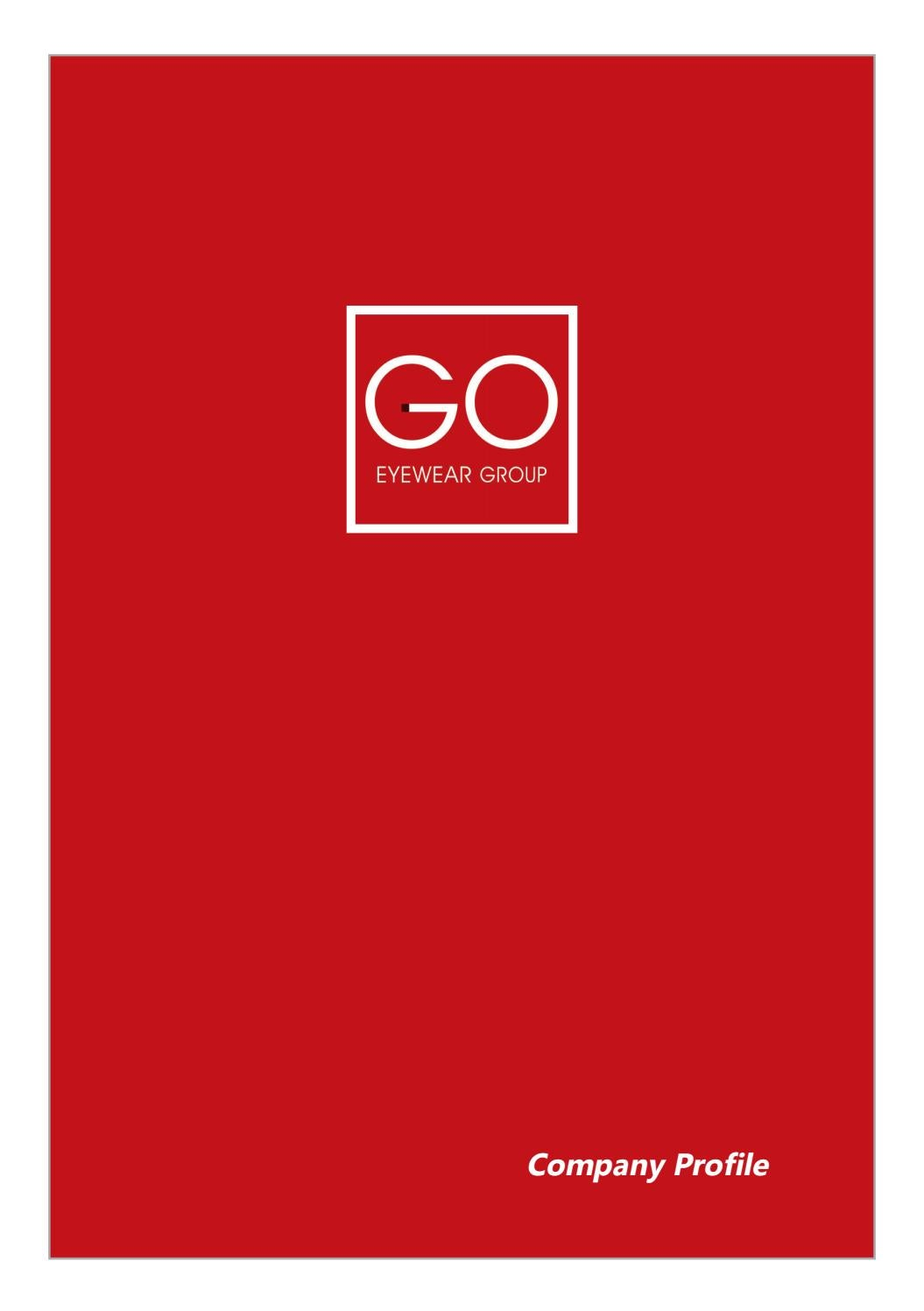 Company Profile English by Go Eyewear Group - issuu 00fabd19b8